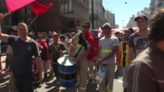 Uruguay: Rousseff joins trade union rally in first overseas visit since impeachment