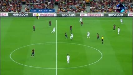Fc Barcelona 3 -2 Real Madrid All goals Hd
