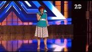 X Factor 2014 - Ваня Терзиева изпълнение на Лили Иванова
