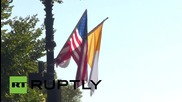 USA: Papal parade delights thousands-strong DC crowd