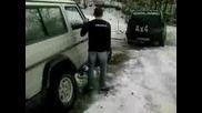 Мерцедес Г Закъсва В Снега