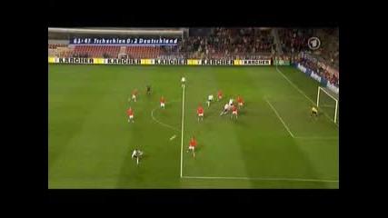 Чехия - Германия 0:2 Кевин Курани Гол
