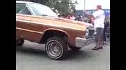 Ford Ranchero Vs. Impala Low Riders