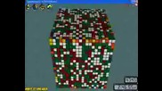 Най-Голямото Кубче На Рубик- 20x20x20