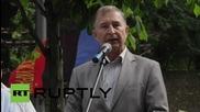 Ukraine: Hundreds protest '1.2m' lost jobs, demand higher wages in Kiev