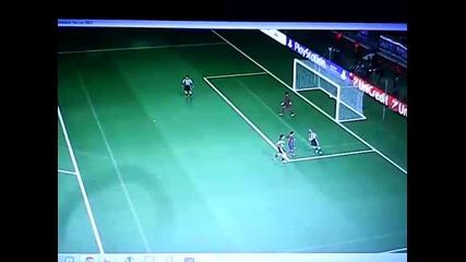 Champions legue Barcelona vs Paok