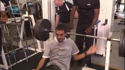 Dynamo - прави невъзможното вдига 150 кг :)