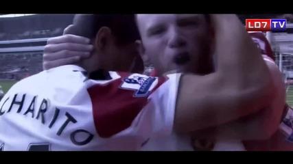 Най-добрите моменти на Wayne Rooney през 2010/2011|hd|