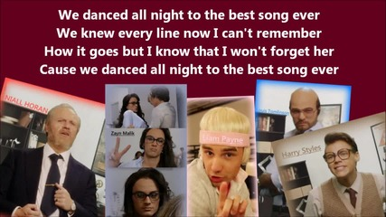 One Direction - Best Song Ever (best Lyric Video)