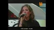 Anahi пее Me Hipnotizas акапел