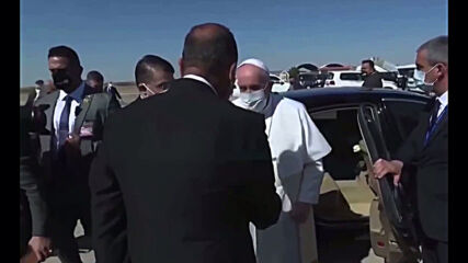 Iraq: Pope Francis meets with Ayatollah al-Sistani during historic Iraq visit