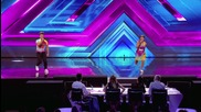The Joys sing Queen's Somebody To Love - Arena Auditions Wk 1 - The Xtra Factor Uk 2014