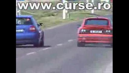 Calibra Turbo Vs Audi S3 270cp