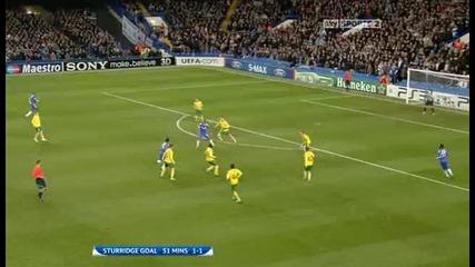 Chelsea v Msk Zilina Sky Highlights - football video - 23.11.10
