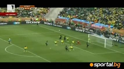 Юар - Мексико 0:0 (1 - во полувреме)