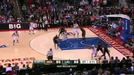 Miami Heat @ Los Angeles Clippers 89 - 95 [11.01.2012]