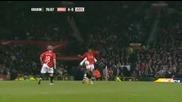Нани се гаври със защитниk на Арсенал! Вижте само по какъв начин ;]