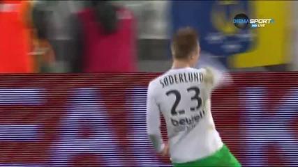 Сьодерлунд се реваншира за пропуснатата дузпа с гол за 3:1