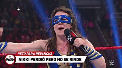 Raw en 8 (MINUTOS): WWE Ahora, Jul 26, 2021