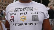 Italy: Protesters take to Rome streets against Green Pass