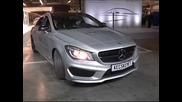 """""""Даймлер"""" показа новото купе Мерцедес CLA, произведено в Унгария"""