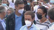 Spain: PM Pedro Sanchez visits area affected by volcanic eruption on La Palma