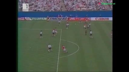 Великият гол на Лечков Германия - България 1994