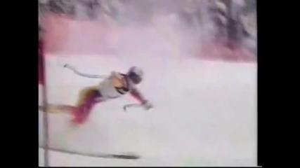 Ski crashes