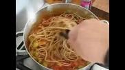 Рецепта за спагети Болонезе с маслини