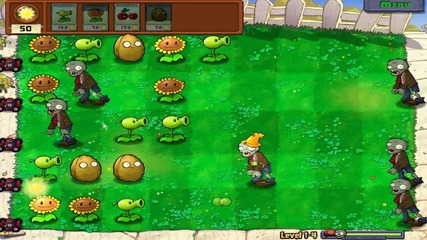 Plants Vs Zombies My Gameplay part 2
