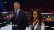 Ей Джей се оттегля от поста главен мениджър на Raw