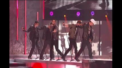 Backstreet Boys & New Kids On The Block = Nkotbsb (perfo