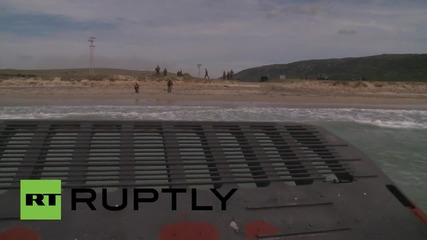 Spain: Dutch amphibious task group take part in NATO's Trident Juncture drills
