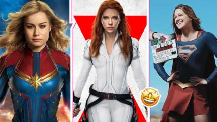Да станеш супергероиня: Как актрисите на Marvel и DC тренират за ролите си?