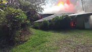Десетки къщи са унищожени от лавата на вулкана Килауеа