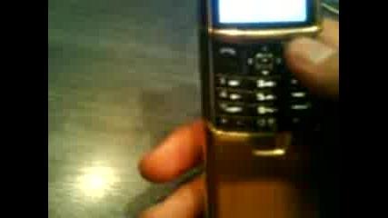 Nokia 8800 Gold Review