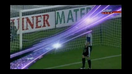 Лига Европа - Гингам 1:5 Хамбургер Шф