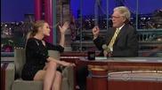 David Letterman-blake Lively - 2010.10.01