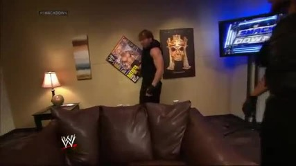 The Shield takes out Brad Maddox Smackdown, April 25, 2014
