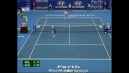"""Тенис: Австралия победи с 2:1 успеха Белгия за """"Хопман къп"""""""