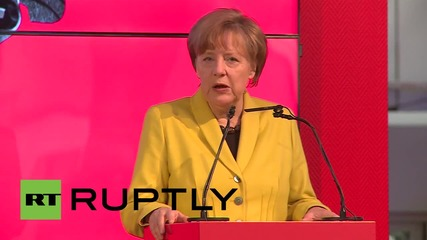 Germany: Merkel and Indian PM Modi open Hannover Messe together