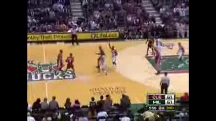16 points in 2 minutes - Lebron James