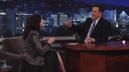 Demi Lovato при Jimmy Kimmel Live Part 2