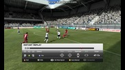 Красив гол на Скот Паркър - Fifa 12