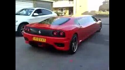 Лимузина на Ferrari f360