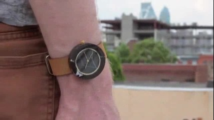 Worlds first Marble wristwatch! A unisex design, very cool_0