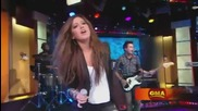 Ashley Tisdale - Its Alright,  Its Ok (live At Good Morning America) ( Високо Качество )