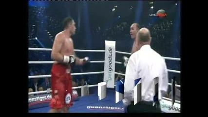 Кубрат Пулев нокаутира гиганта Устинов и вече чака Владимир Кличко