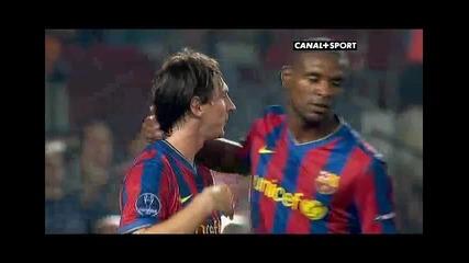 Barcelona - Dynamo 1 - 0 Messi