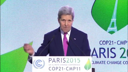 France: 'We are responsible to the future' - Kerry urges climate change action